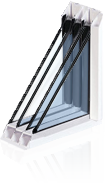 Quad Pane Window