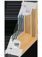Triple-pane slider window